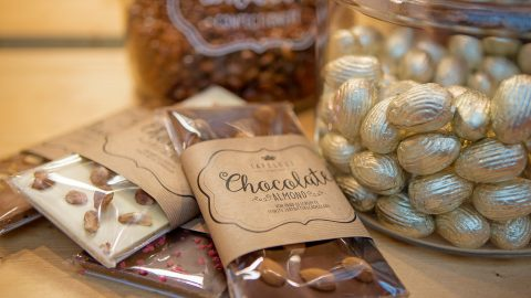 Chocolate at Christmas Delights, a product group at Christmasworld