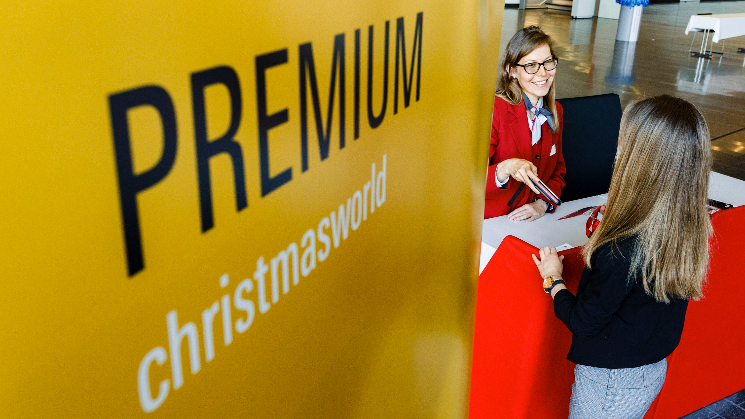 Christmasworld Premium Eingang