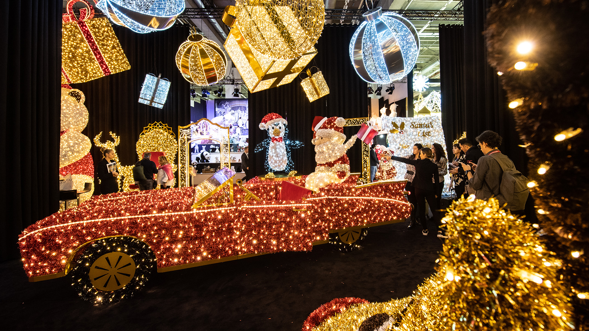 Visual merchandising & Light at Christmasworld