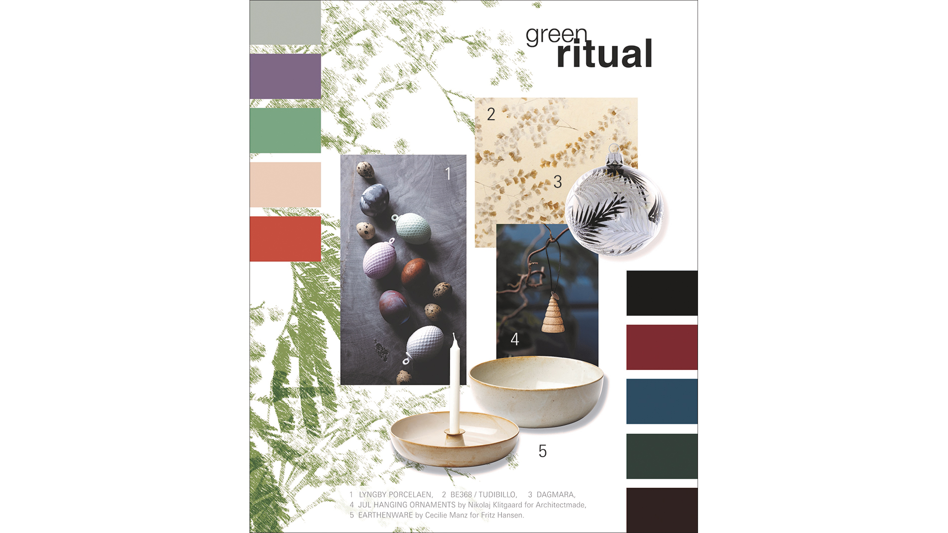 Christmasworld Trends 2020/21: green ritual