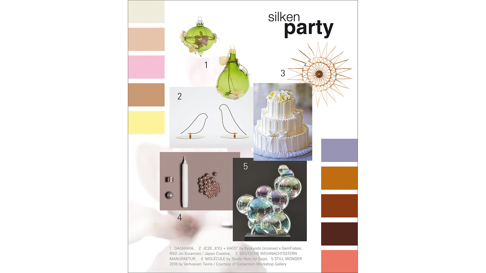 Christmasworld Trends 2020/21: silken party