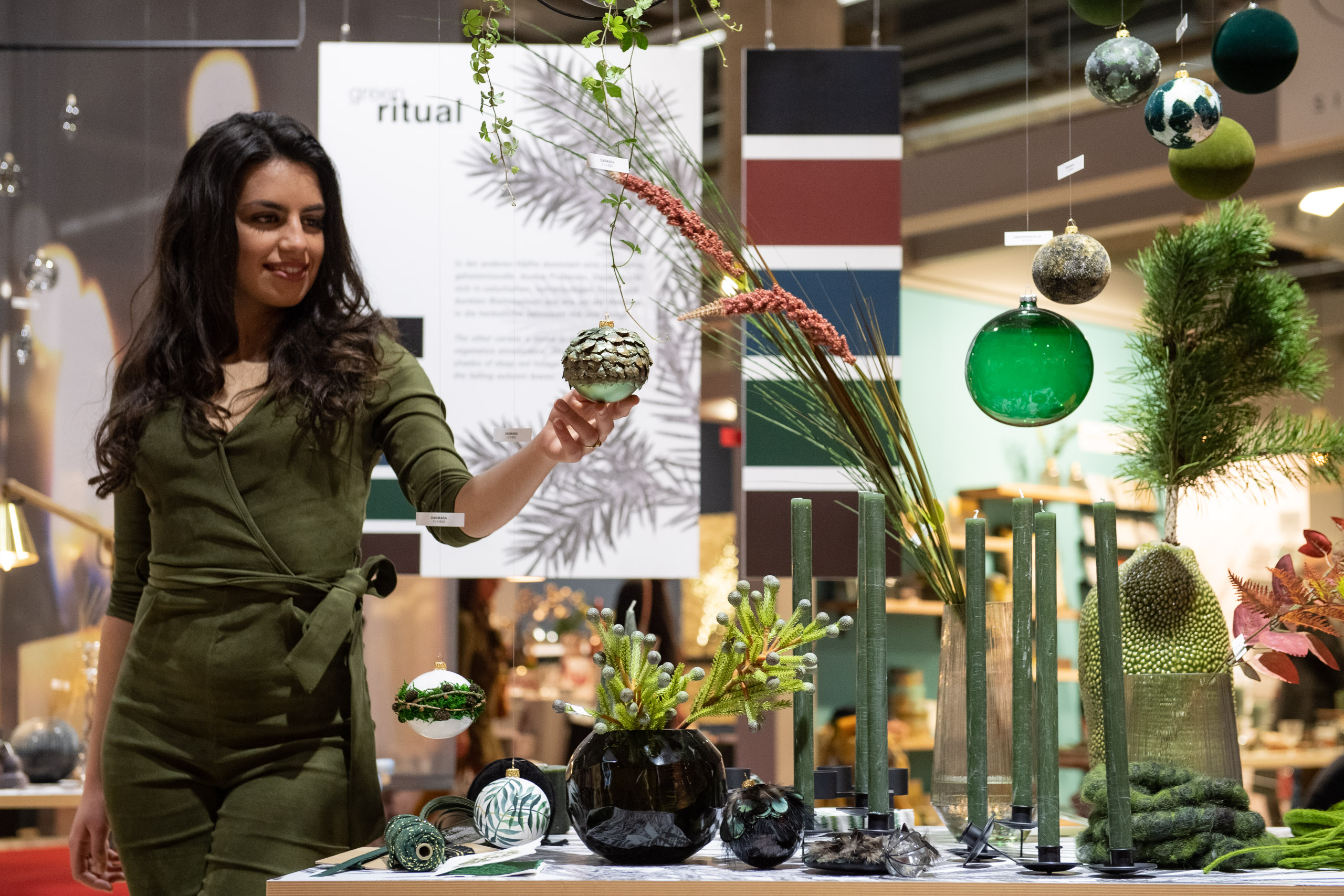 "Christmasworld Trend ""Green Ritual"""