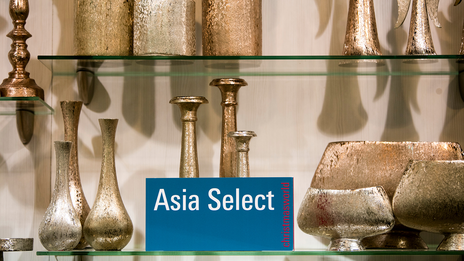 Asia Select at an exhibition stand at Christmasworld