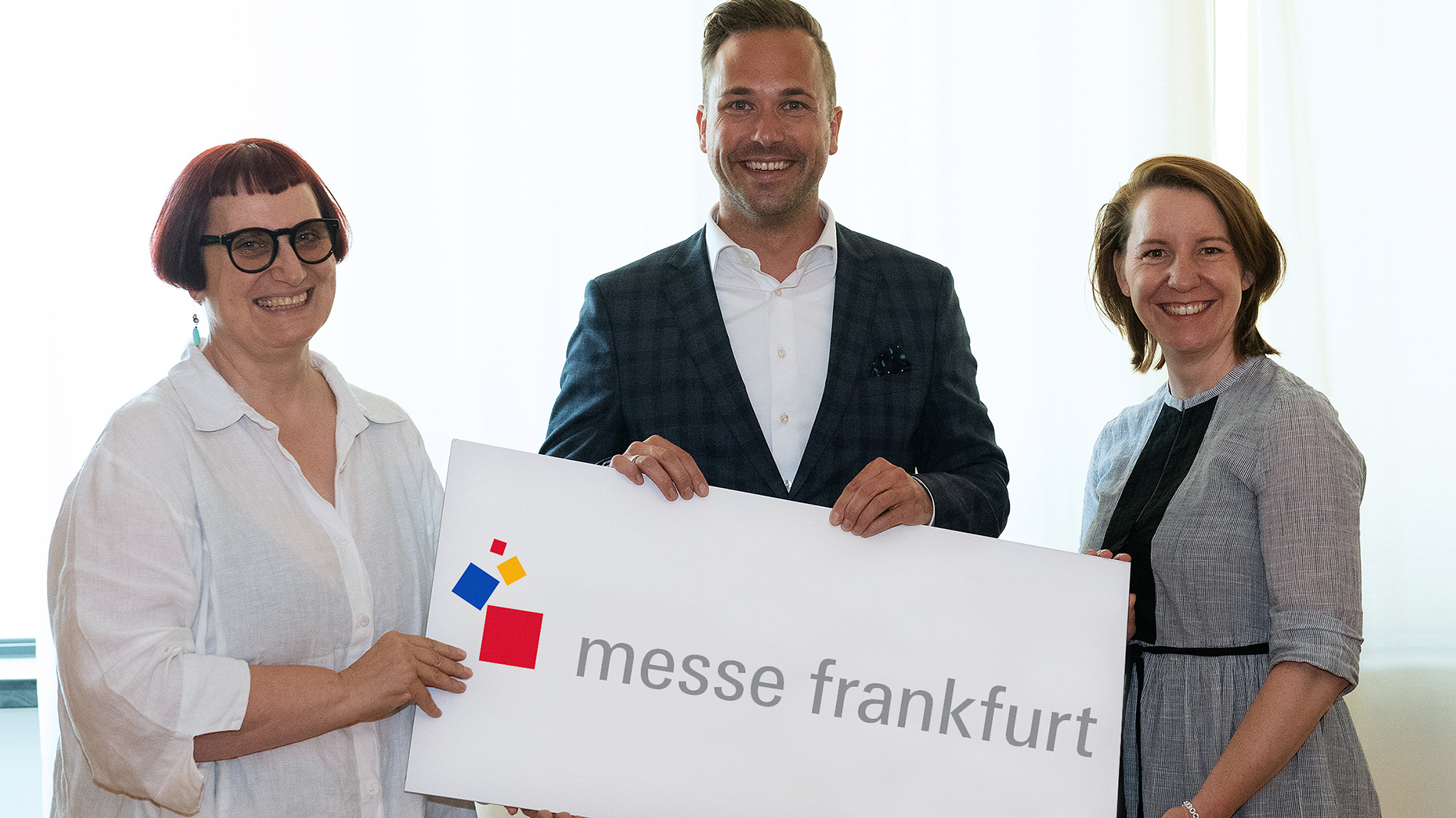 Generation change in the consumer goods traid fairs LTR: Nicolette Naumann, Philipp Ferger, Julia Uherek
