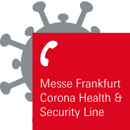 Messe Frankfurt Corona Health & Security Line