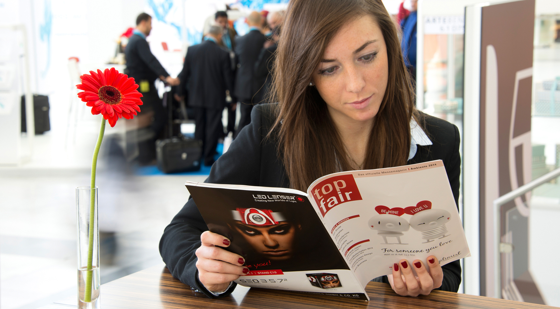 TOP FAIR – the official trade-fair magazine