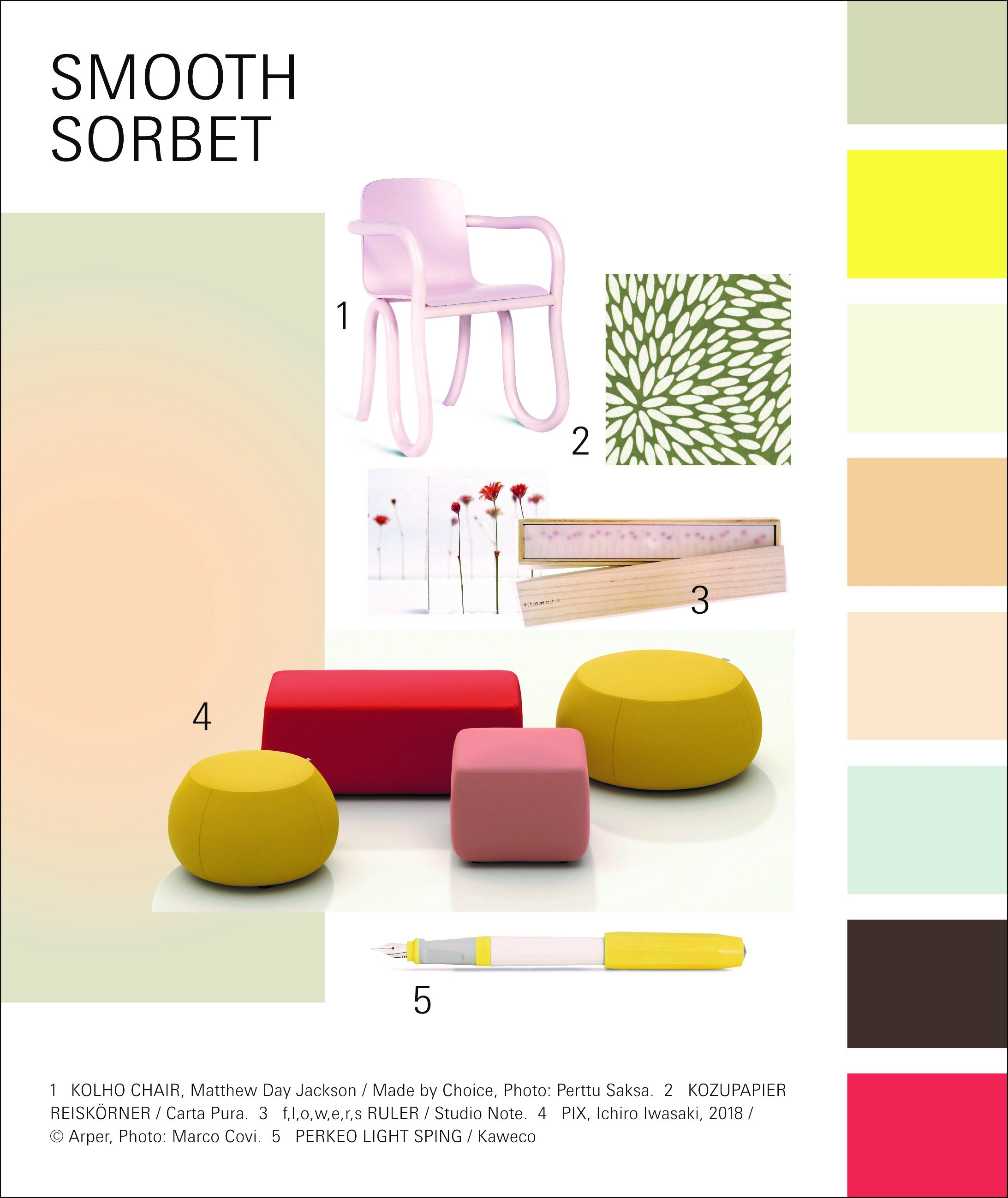 Paperworld Trend 2020/21: Smooth Sorbet