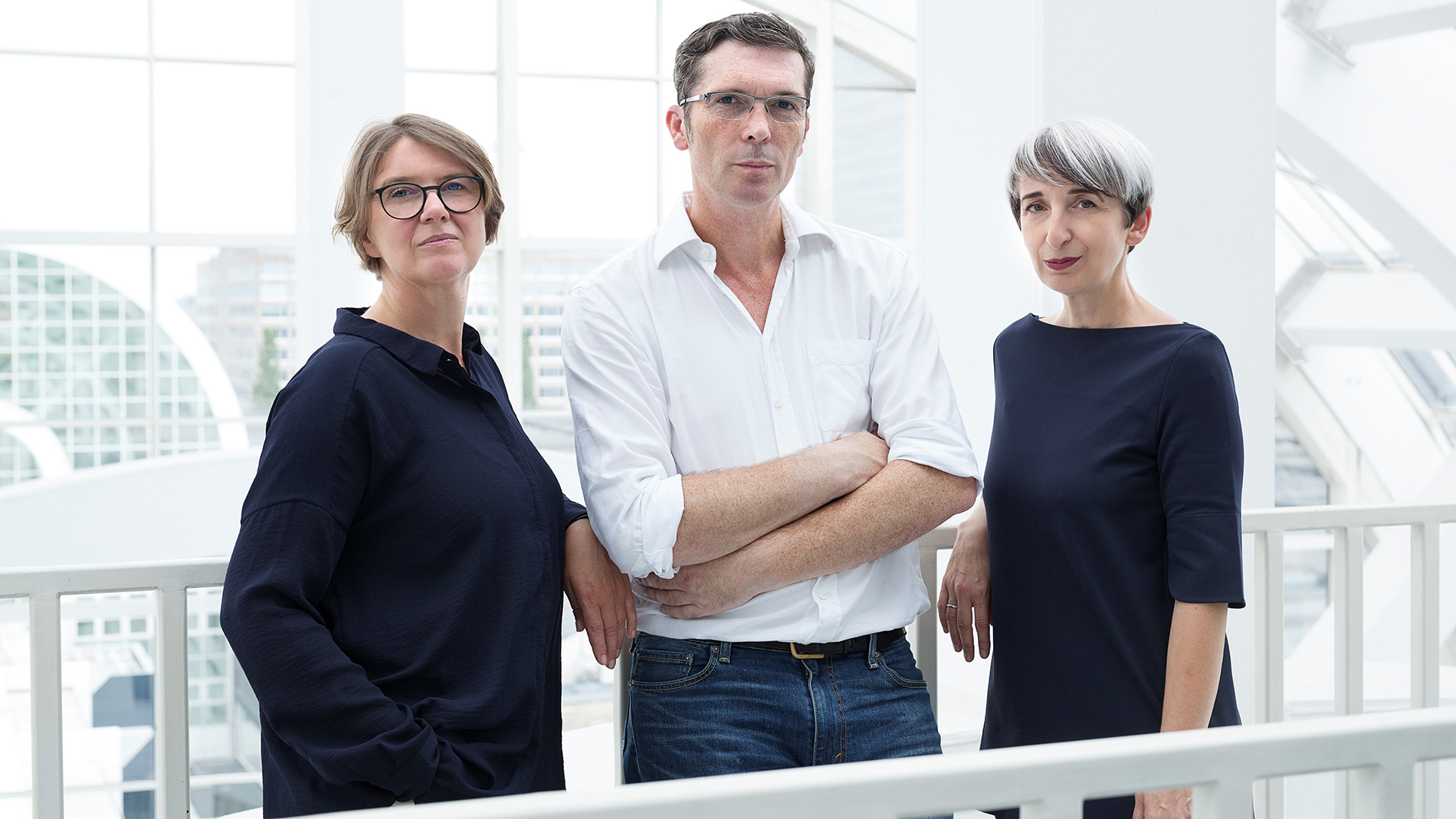 Designers Cem Bora, Claudia Herke and Annetta Palmisano from the design studio bora.herke